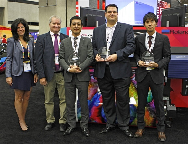 "Roland DG TrueVIS Series Receives Three 2020 Buyers Lab ""Pick Awards"" at PRINTING United"