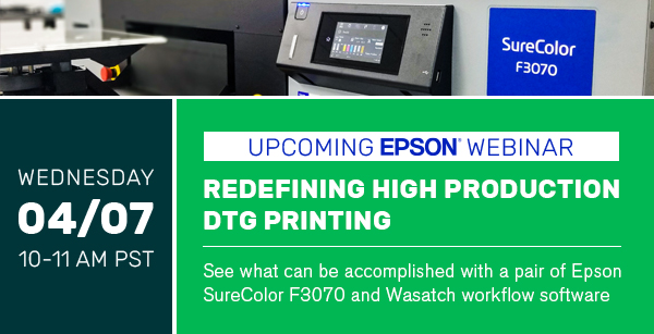 Redefining High Production DTG Printing