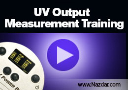Nazdar UV Measurement Training