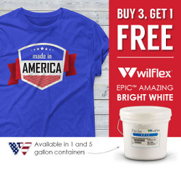 Buy 3, Get 1 Free with Wilflex Amazing Bright White