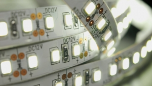 What are the advantages of LED as a light source?