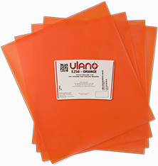 Free Report Download: Ulano EZ-50 Orange Film for Imprinted Sportswear