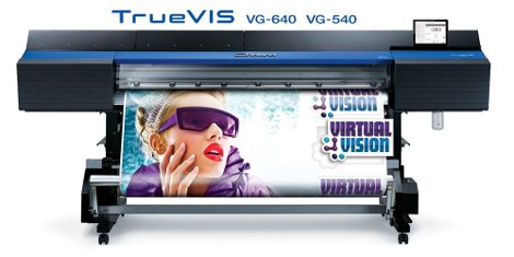 Roland launches first printers from new TrueVIS Series