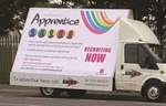 Nazdar Inks and QPS Help Kirkby Signs Take to the Road with New Ad Vans