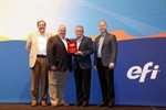 Nazdar SourceOne Recognized as 2016 EFI Dealer of the Year