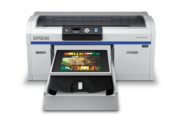 Nazdar SourceOne Expands Direct-To-Garment Product Offering with Epson Sure Color F2000 Series
