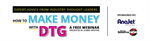 Webinar Event: How to Make Money with DTG