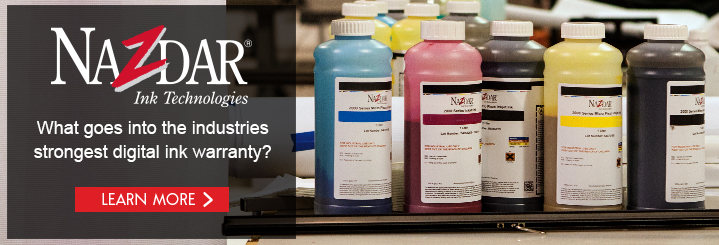 Nazdar Digital Ink Warranty