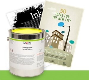 5500 Flat Poster Screen Ink Additives - Binder Varnish