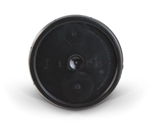 5 Gallon Lid - Black Plastic