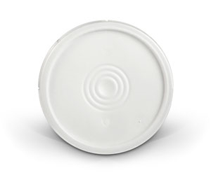 5 Gallon Lid - White Plastic