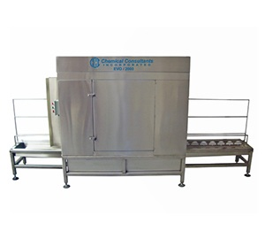 EVO-HP W3000 Automated Screen Reclaimer with Dryer