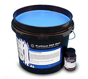ProChem DXP Dual Cure Emulsion - Blue