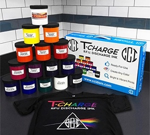 T-Charge Ready-For-Use Discharge Inks - Quart Starter Kit
