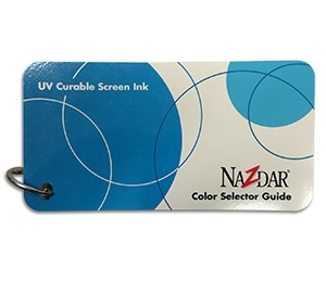 UV Curable Screen Inks Color Card
