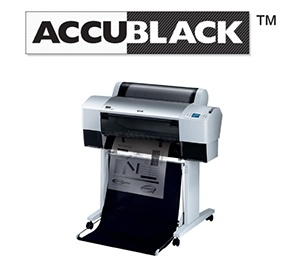AccuBlack Inkjet Film Positive