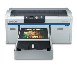 SureColor F2000 Series DTG Printer with White Ink