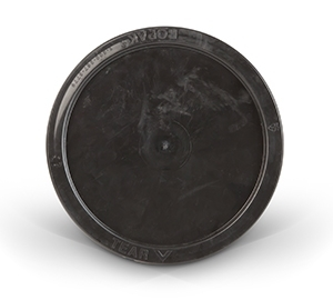 Gallon Lid - Black Plastic