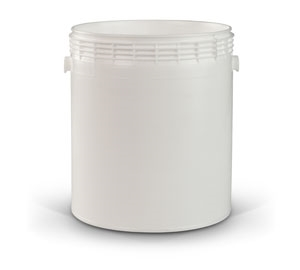 Gallon Container - White Plastic