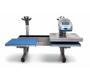 Dual Air Fusion Heat Press with Laser Alignment System