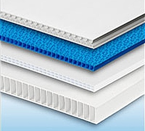 4mm Fluted Polypropylene Board - White