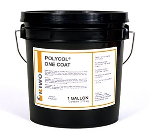 Polycol One Coat Blue Direct Emulsion Kiwo Nazdar