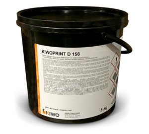 KiwoPrint D 158 Screen Printing Adhesive