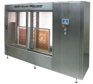 Eco-Rinse Automatic Screen Rinsing System