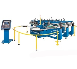 Stryker Oval Automatic Textile Press