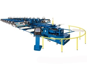 Alpha 8 Oval Textile Press