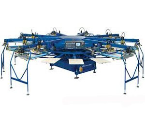 Sportsman EXG Automatic Textile Press