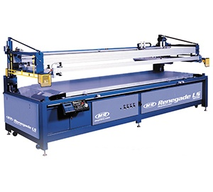 Renegade LS Flatbed Graphic Press