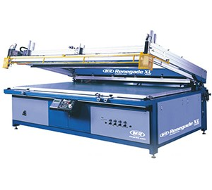 Renegade XL Flatbed Graphic Press