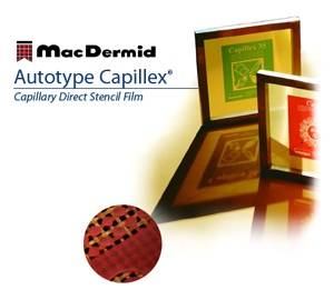 Capillex Photostencil Film
