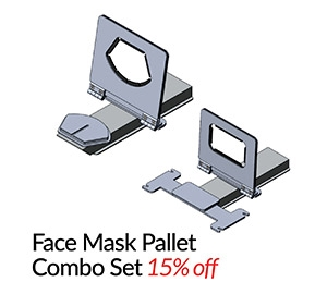 Face Mask Pallet for M&R - Combo Set