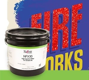 NFX30 High Sparkle Glitter UV Screen Ink