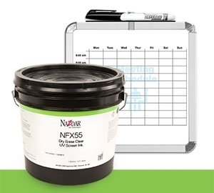 NFX55 UV Dry Erase Clear Screen Ink