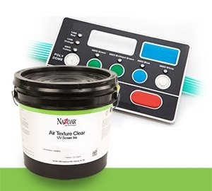NSC UV Air Texture Clears Screen Ink - Medium