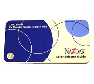 3500 Series UV Durable Graphic Ink Color Card
