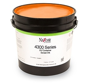 4300 UV Container Screen Ink - Standard Colors