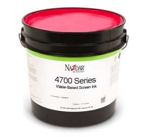 4700 Series Water - Based Screen Ink