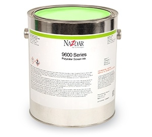 9600 Polyester Screen Ink - Transparent Colors