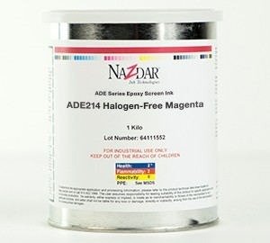 ADE Epoxy Screen Ink - Halogen Free Colors