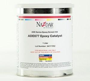 Ade Epoxy Screen Ink Epoxy Catalyst Nazdar Nazdar