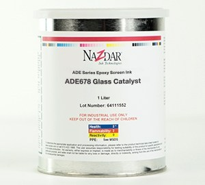 ADE Epoxy Screen Ink - Glass Catalyst