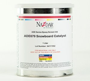 ADE Epoxy Screen Ink - Snowboard Catalyst