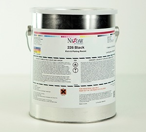 226 Alkali Removable Etch Resist Ink - Black