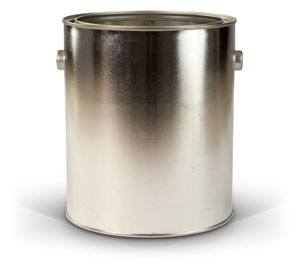 Gallon Container - Metallic