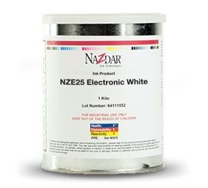 NZE Solvent-Based Black & White Screen Ink - Halogen Free Tinting Colors