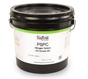 PSPC Nitrogen Texture Overprint Clear UV Screen Inks - Viscous